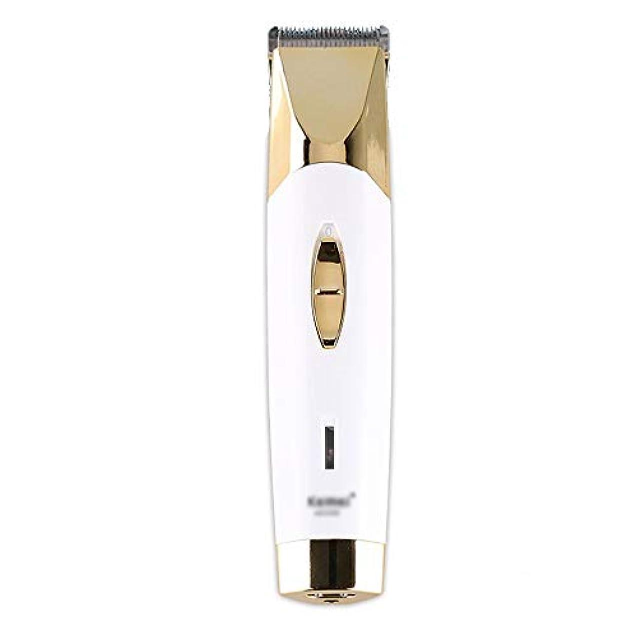 無意味フェザー振り返るWAKABAFK プロフェッショナルバリカン充電式ヘアカット機電気シェーバー用男性ひげトリマー理髪散髪