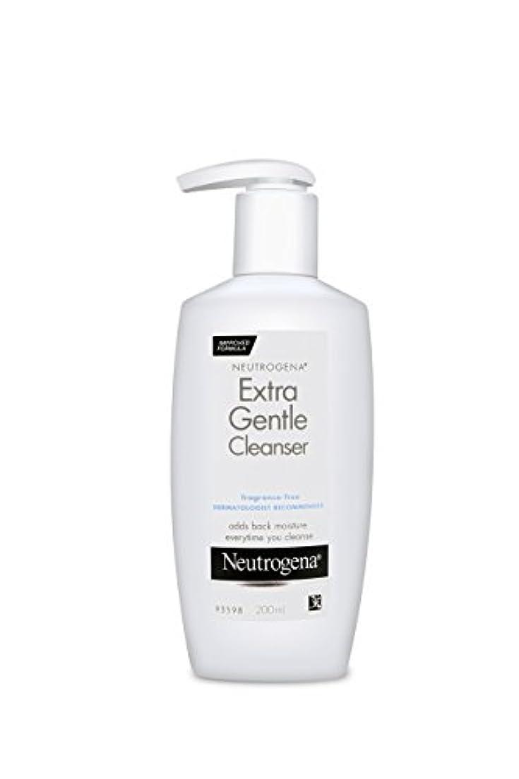 頭蓋骨背骨不快なNeutrogena Extra Gentle Cleanser 200 ml (並行輸入品)