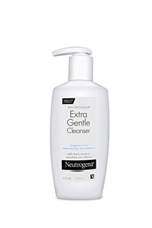 アンテナ手荷物ミントNeutrogena Extra Gentle Cleanser 200 ml (並行輸入品)
