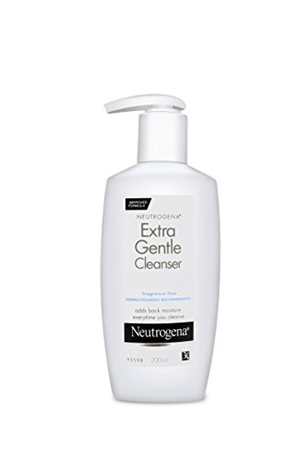 中毒ポゴスティックジャンプ裂け目Neutrogena Extra Gentle Cleanser 200 ml (並行輸入品)