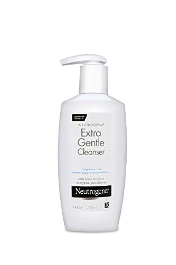 マナーイチゴ収容するNeutrogena Extra Gentle Cleanser 200 ml (並行輸入品)