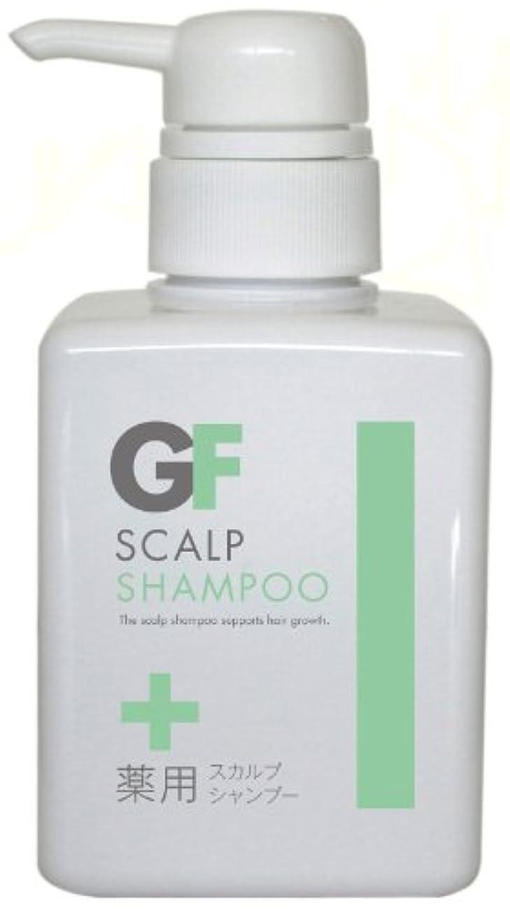 アブストラクト硬さ炭水化物薬用 GFスカルプシャンプー 300ml