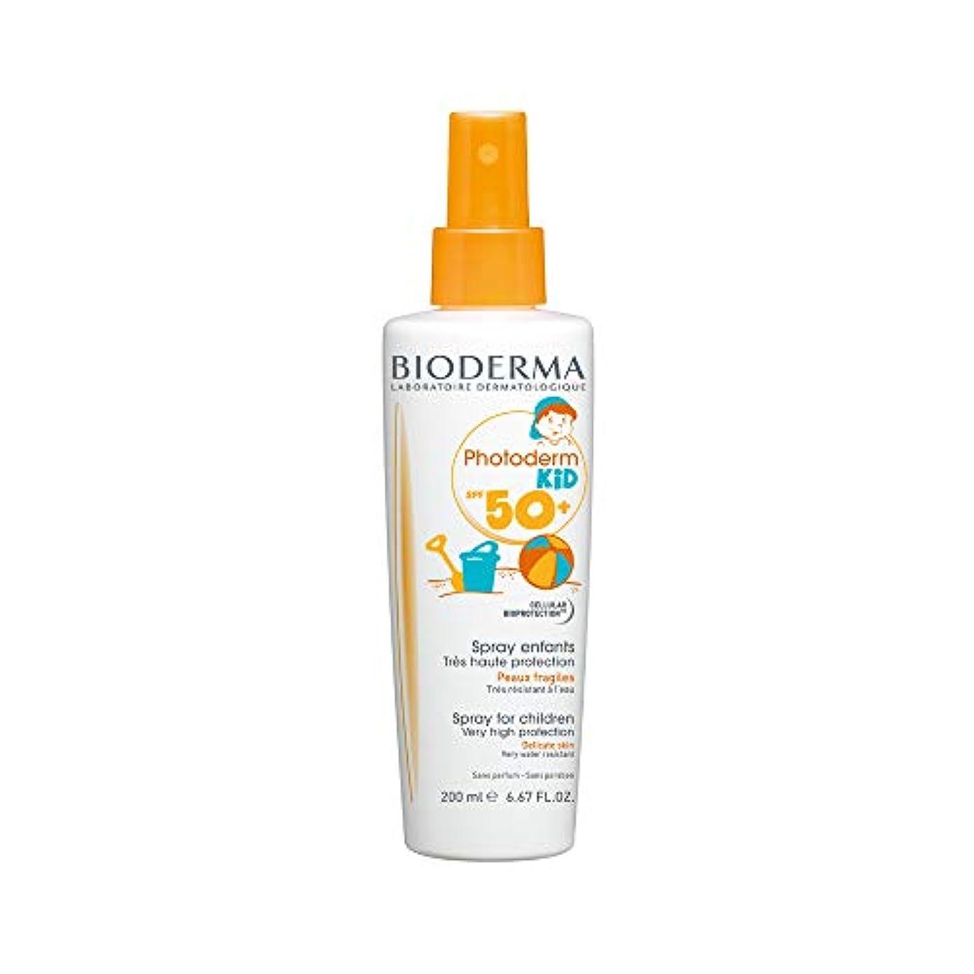薬血色の良い単語Bioderma Photoderm Kid Spf 50+ Spray 200ml