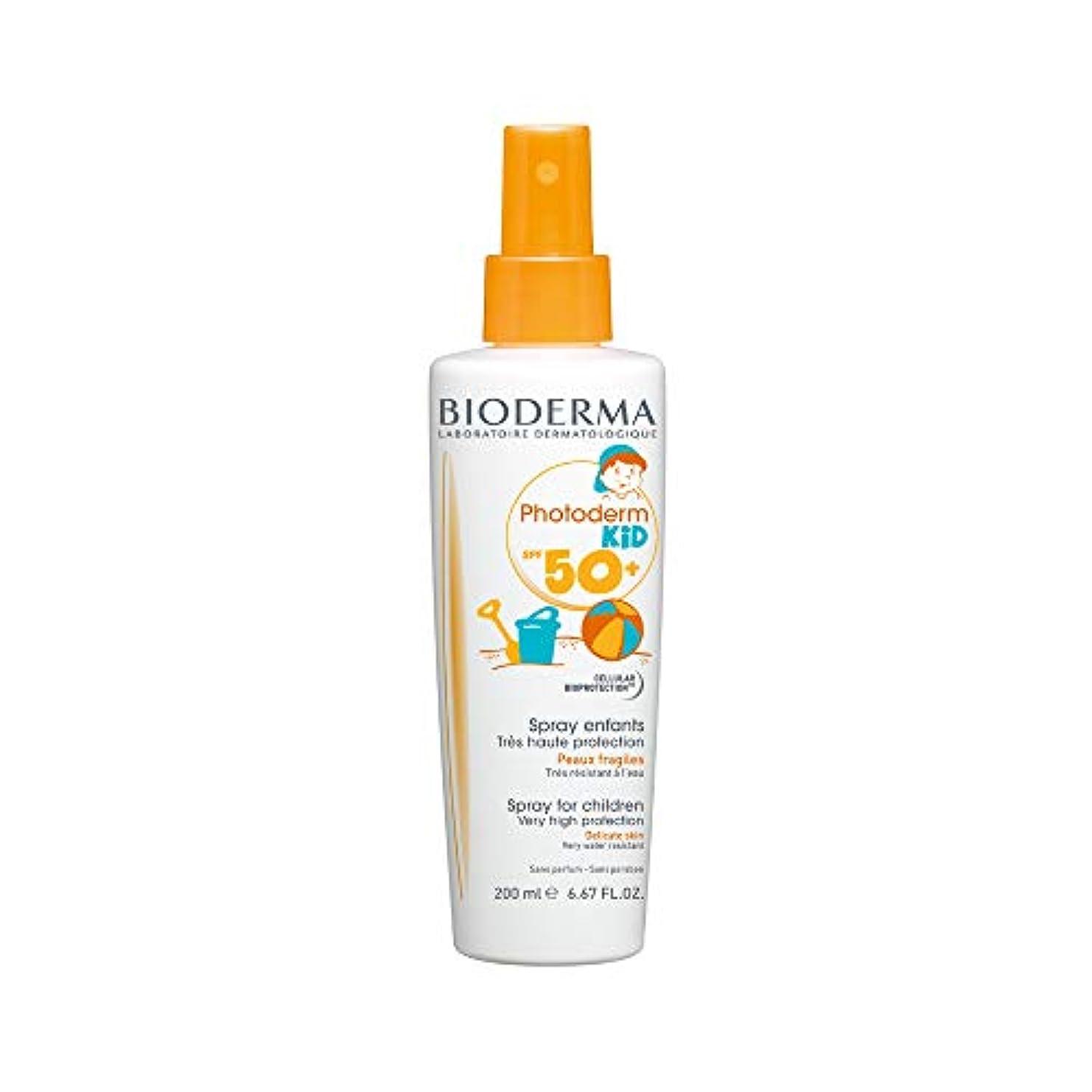 金属士気許容Bioderma Photoderm Kid Spf 50+ Spray 200ml