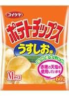 コイケヤ ポテトチップス うすしお味 60g 24個