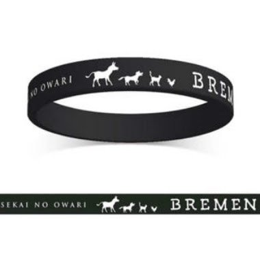SEKAI NO OWARI BREMEN ブレーメン ラバーバンド