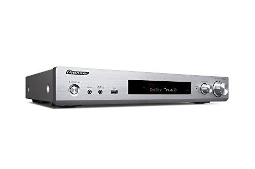 Pioneer スリムAVレシーバー Class Dアンプ採用/radiko.jp対応/Bluetooth対応/ハイレゾ対応 シルバー VSX-S520(S) 【国内正規品】