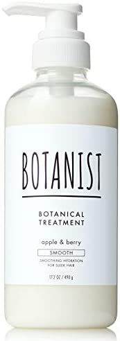 Botanist Botanical Treatment (Smooth) 17.2 oz (490 g) Renewal from Plants Hair Care Smooth Finger