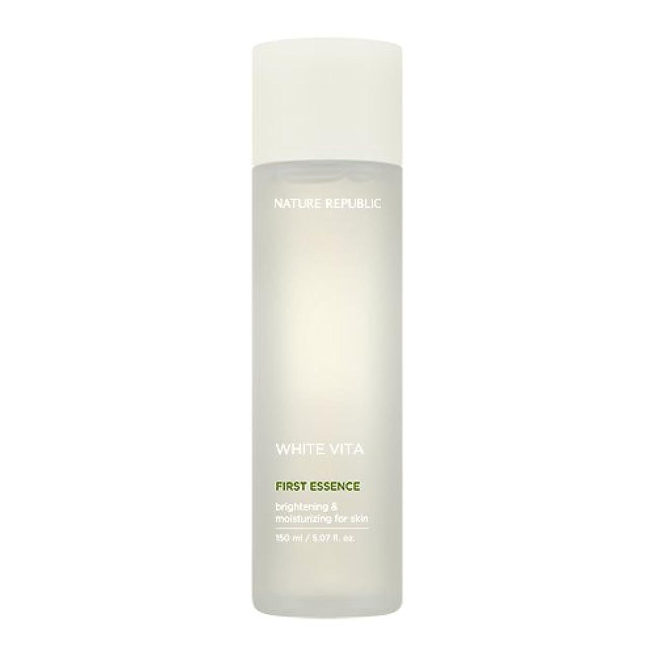 逆ステレオ雇用[Renewal] NATURE REPUBLIC White Vita Floral Capsule Essence / ネイチャーリパブリック ホワイトヴィータフローラルプセルエッセンス40ml [並行輸入品]