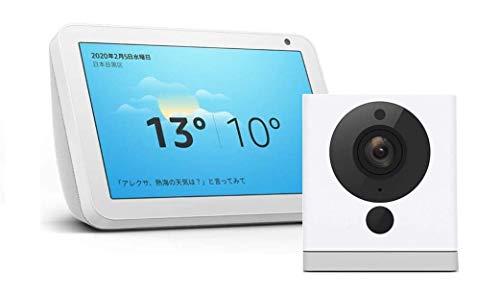 「Echo Show 5」&「Echo Show 8」+スマートホームカメラ「ATOM Cam」もAmazonプライムデーセール中!最大7,540円オフ