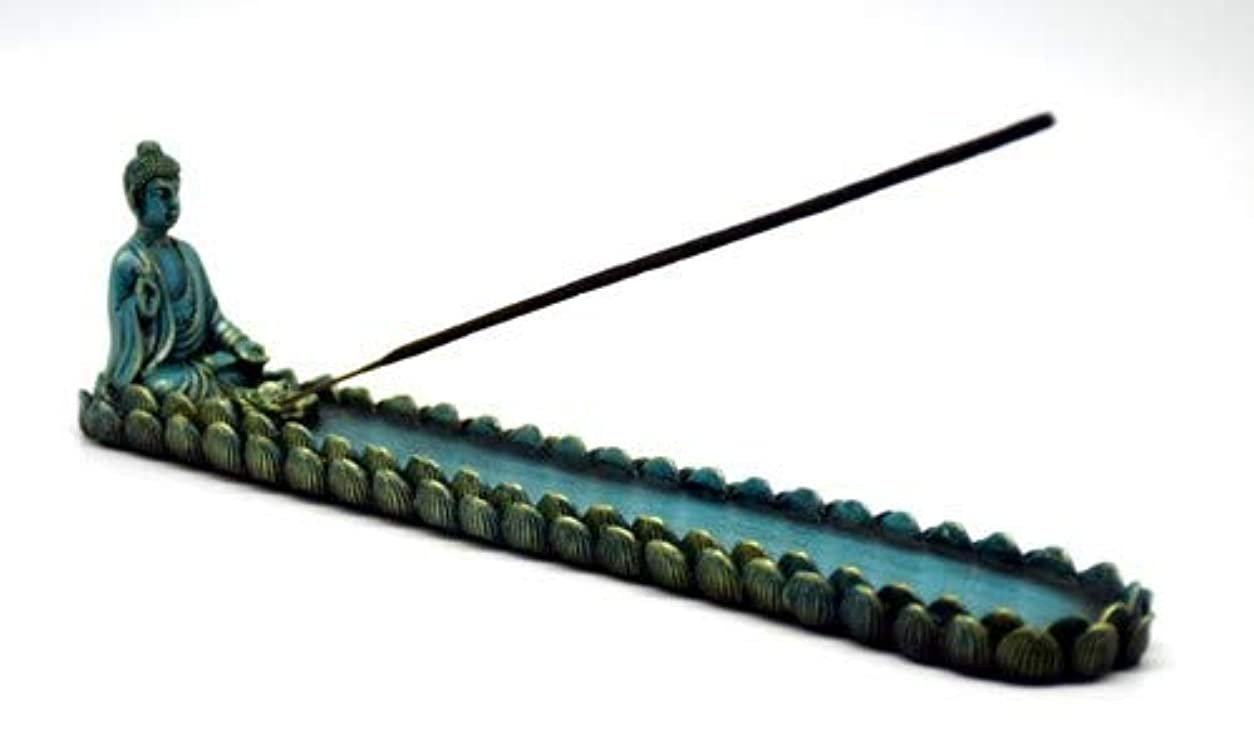 哲学的落ちた願望Blue Buddha Incense Burner – 10