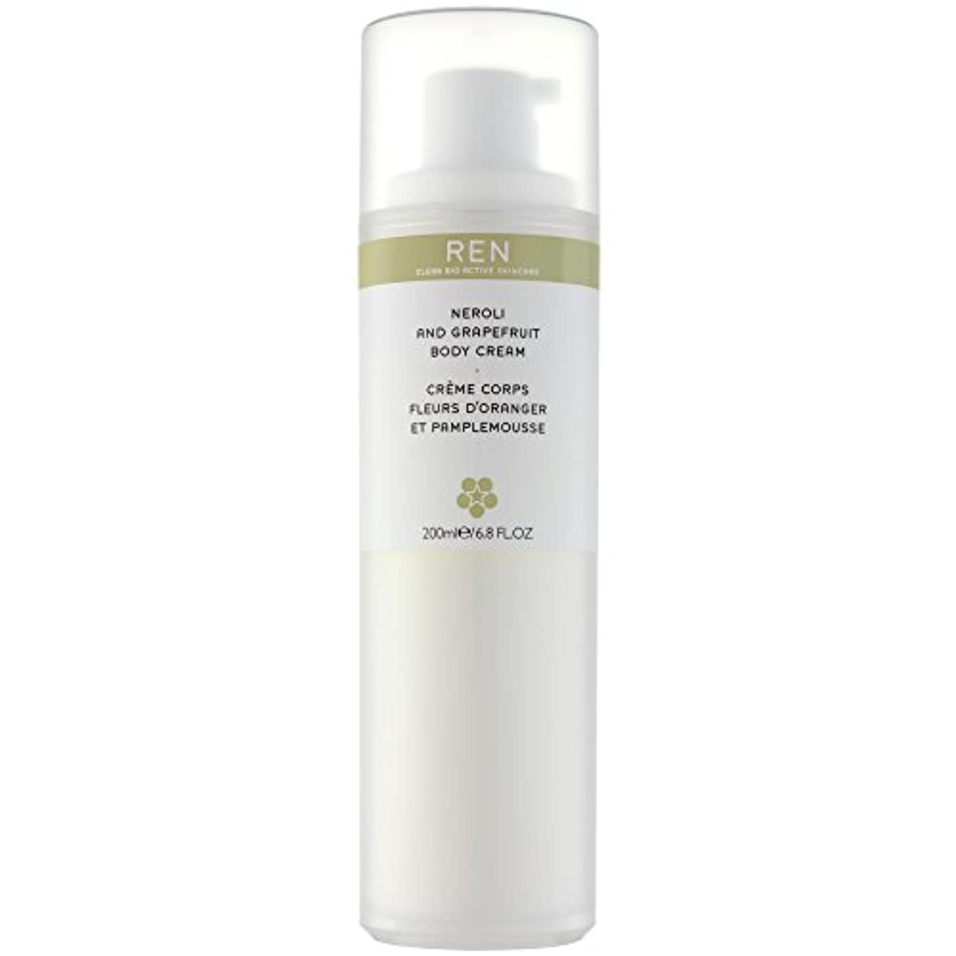 薬新聞ジェーンオースティンRenネロリとグレープフルーツボディクリーム200ミリリットル (REN) (x6) - REN Neroli and Grapefruit Body Cream 200ml (Pack of 6) [並行輸入品]
