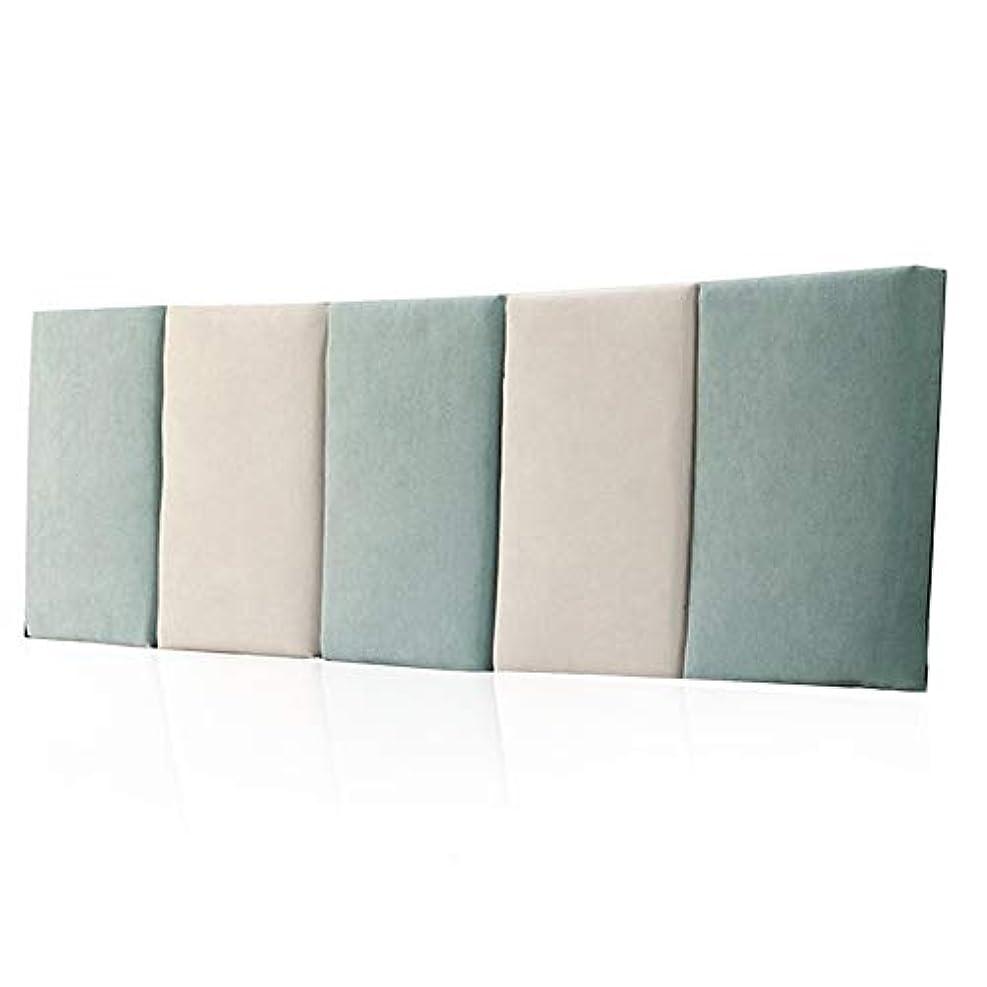 参照活性化簡単にLIANGLIANG クッションベッドの背もたれベッドルームピローベッド背もたれクッション余分ラージ洗濯可能2トーンコロケーション布、6色、6サイズ (色 : 青, サイズ さいず : 120X55X5CM)