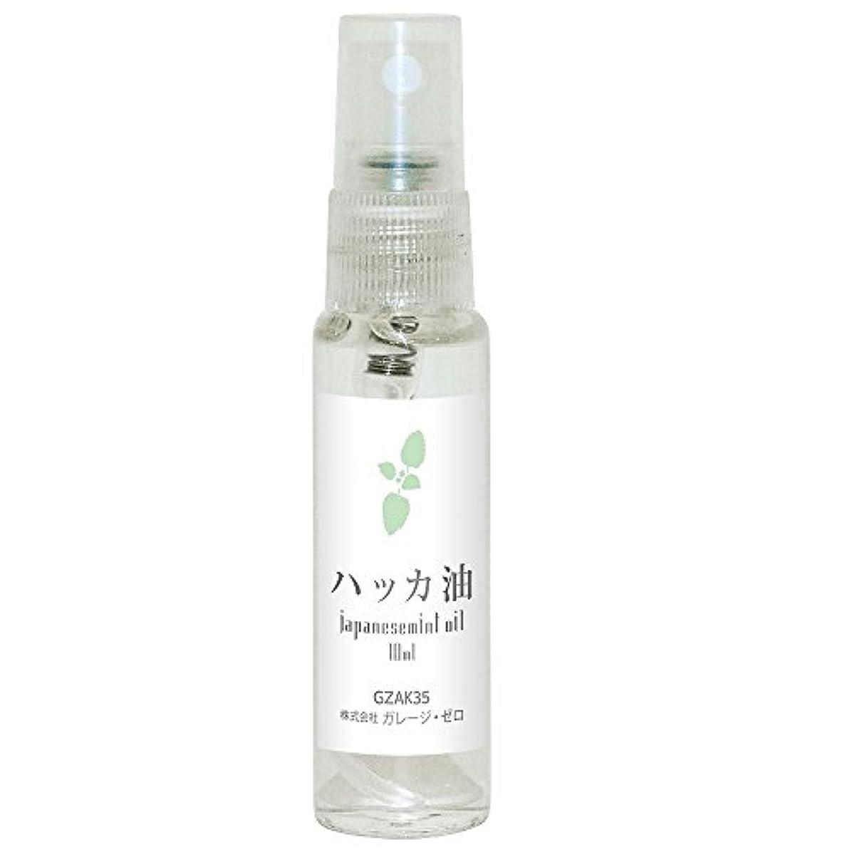 北極圏可聴瞑想的ガレージゼロ ハッカ油 透明スプレー瓶入10ml GZAK35