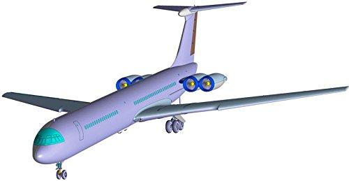 1/144 イリューシンIL-62M ソビエト旅客機