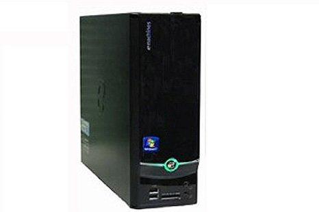 中古 e-machines デスクトップパソコン EL1358-N22D 単体 Windows7 搭載 メモリー2GB搭載 HDD320GB搭載 DVDマルチ搭載