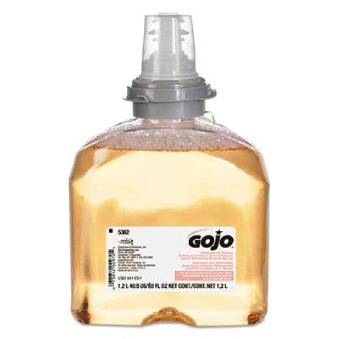 セグメント聖なるなぞらえるGOJO 5362 – 02プレミアムフォーム抗菌手洗い、1200 ml ( Pack of 2 )