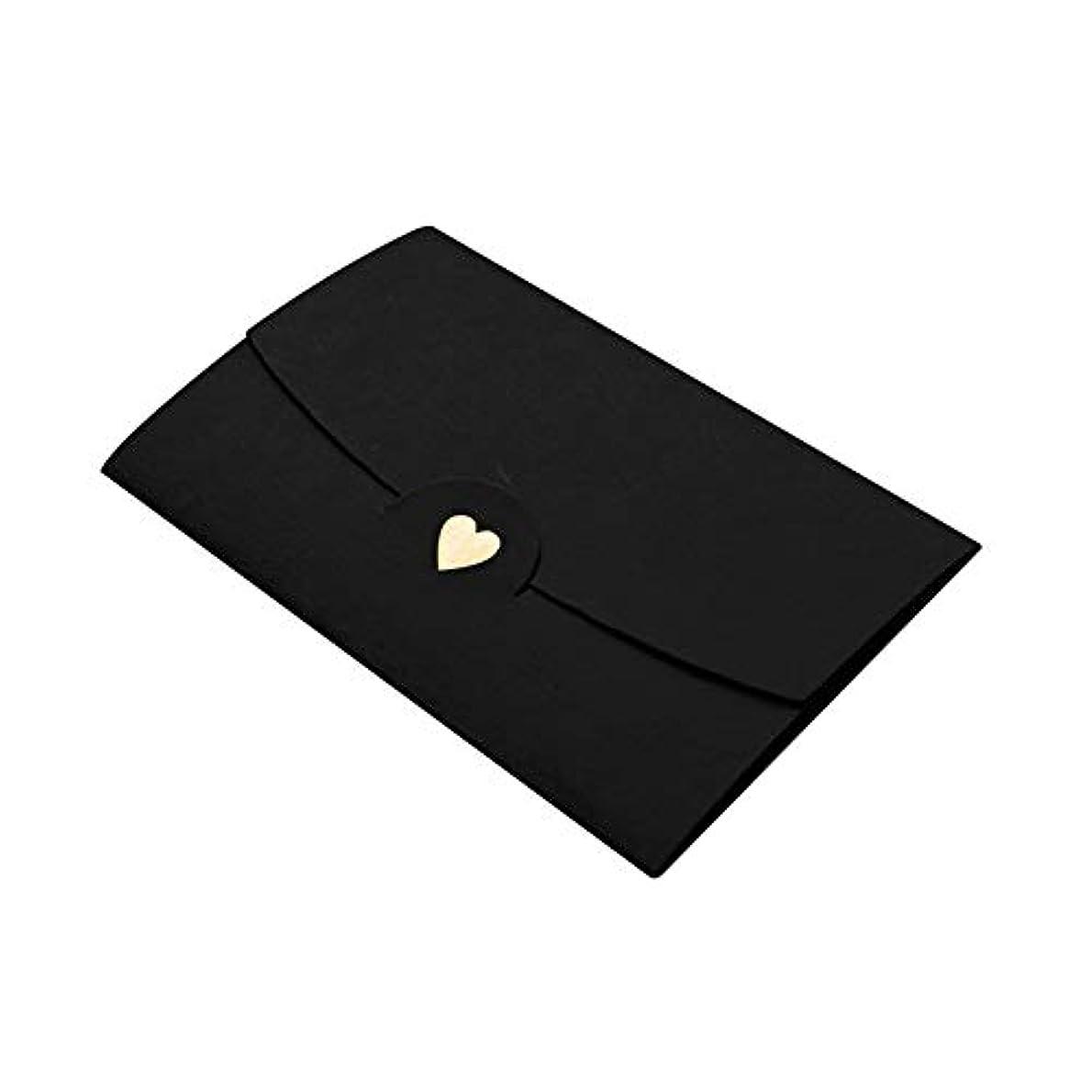 一人で代表して平方Zachao0 封筒 20枚 クラフトミニポケットギフトカード ビジネス DIY 愛情 ハート ウェディング オフィス ノート ペーパー クラシカル多機能 (パールワインレッド) free size 15670922648444
