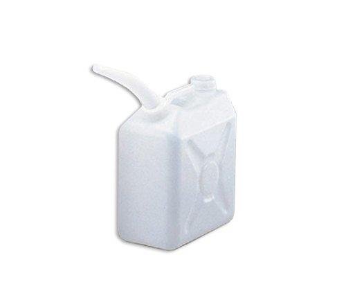 三宝化成 角型瓶(ノズル付 HDPE製) 5L 1個 5-037-01