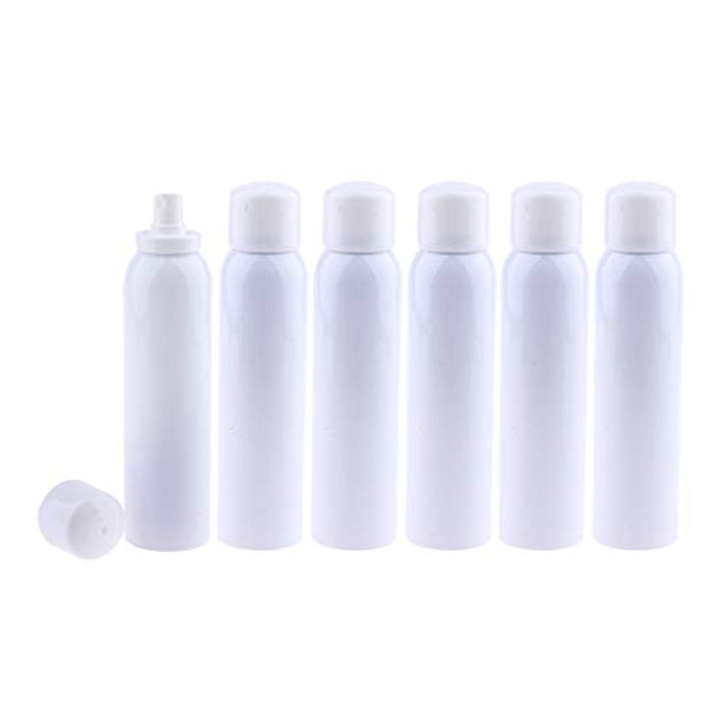 エアコン衣装不適F Fityle 6本 メイクアップボトル 香水ボトル 細かいミスト ポンプスプレーボトル 3サイズ選べ - 200ml