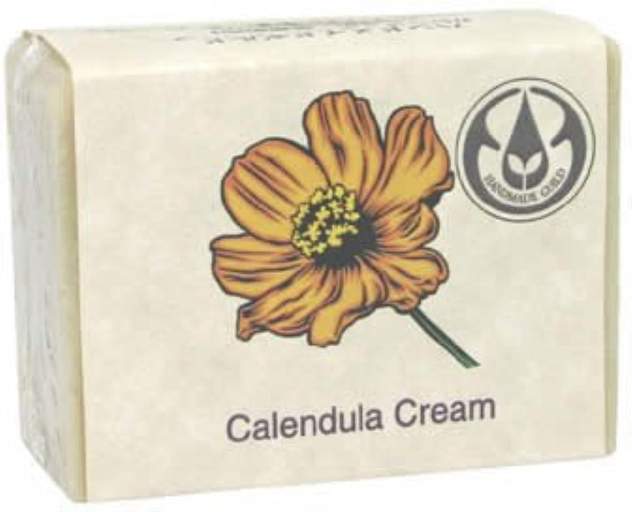 誇り前関税ジョン&ダイアナのハンドメイドソープ カレンデュラクリーム 90g