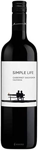 Simple Life California Cabernet Sauvignon Red wine, 750ml