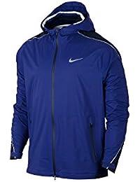 Nike Hyper Shield Light Mens Running Jacket Sz M 746733 455ブルー
