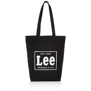 [リー] トートバッグ コットンキャンバス(帆布) L 320-243 01 ブラックコットン