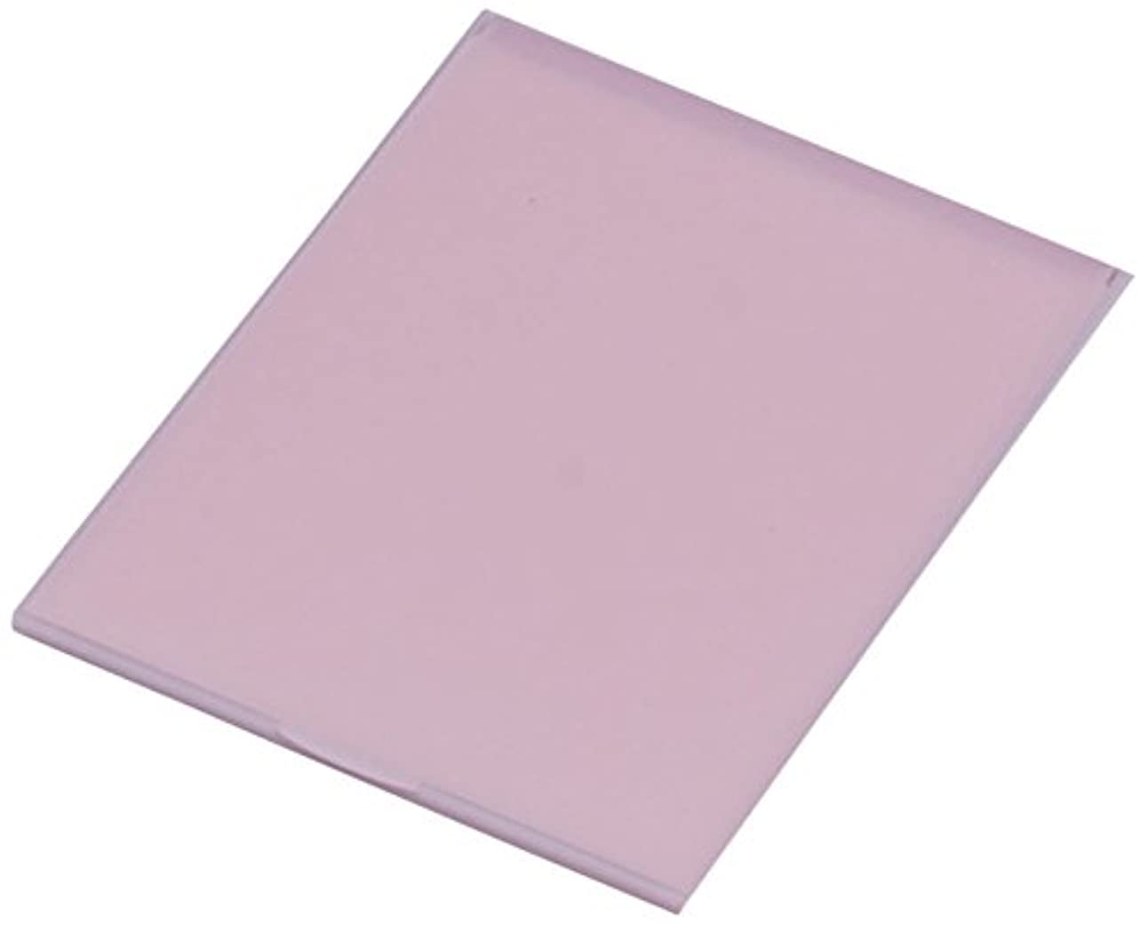 アッパー生き残り調和のとれた堀内鏡工業 スリム&ライト パステルカラー コンパクトミラー L ピンク