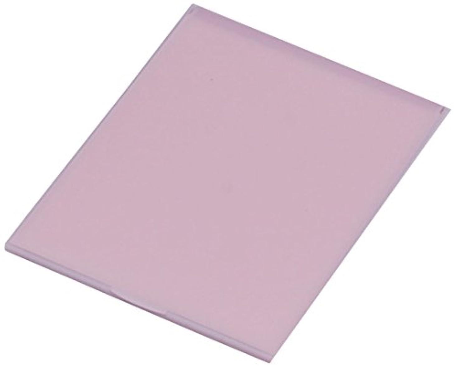 繊毛成功するええ堀内鏡工業 スリム&ライト パステルカラー コンパクトミラー L ピンク