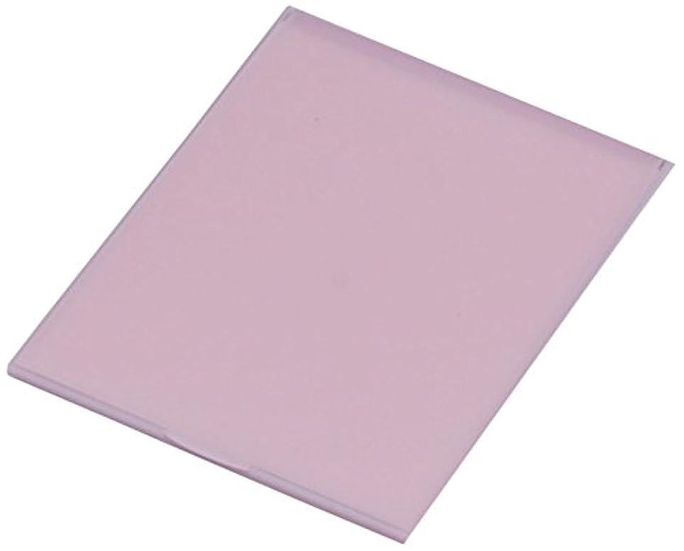 移行無条件著者堀内鏡工業 スリム&ライト パステルカラー コンパクトミラー L ピンク