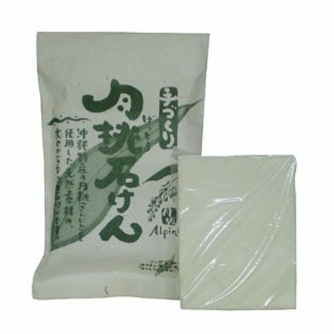 楽なリットル出発する沖縄県産 月桃石けん/台所用石鹸(100g)