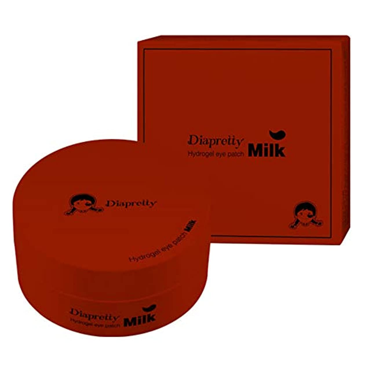 背骨属するライド[ダイアプリティ] ハイドロゲルア イパッチ (Red Ginseng) 60枚, [Diapretty] Hydrogel Eyepatch(Red Ginseng) 60pieces