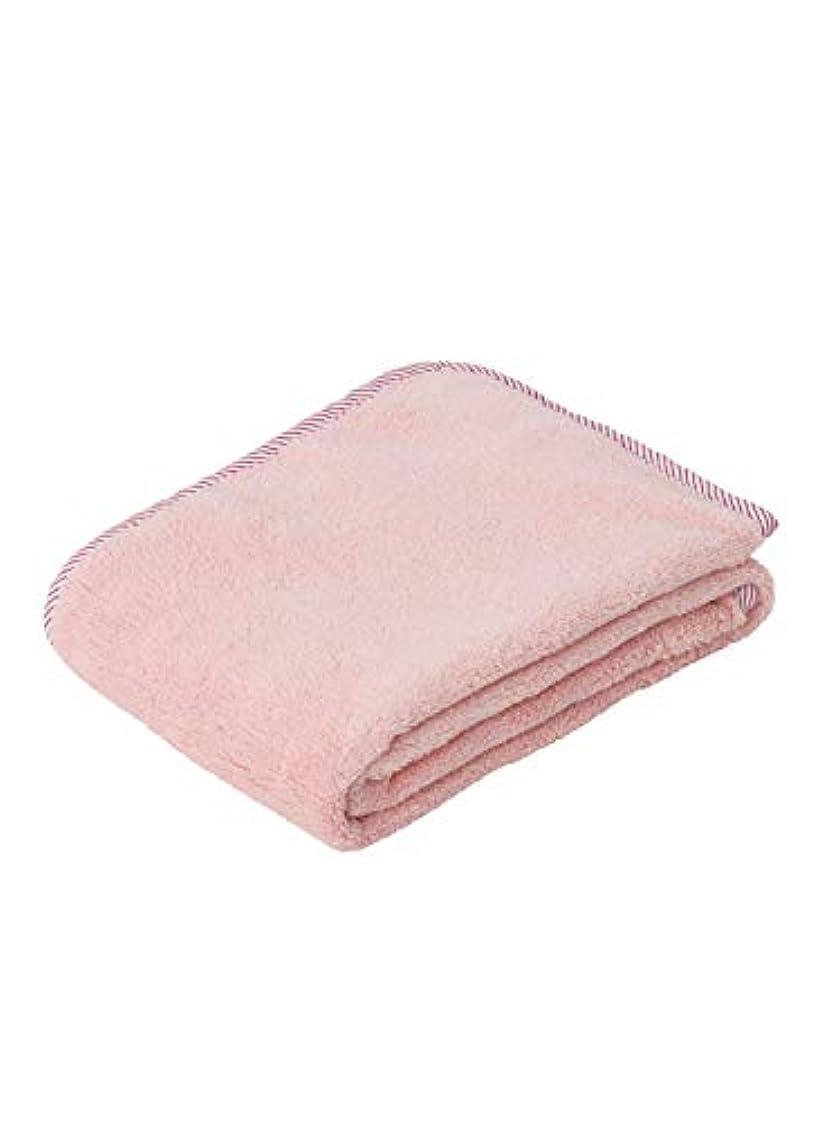 名前を作るデイジーポップシービージャパン タオル ピンク 抗菌 消臭 加工 ヘアドライタオル マイクロファイバー 抗菌カラリ carari