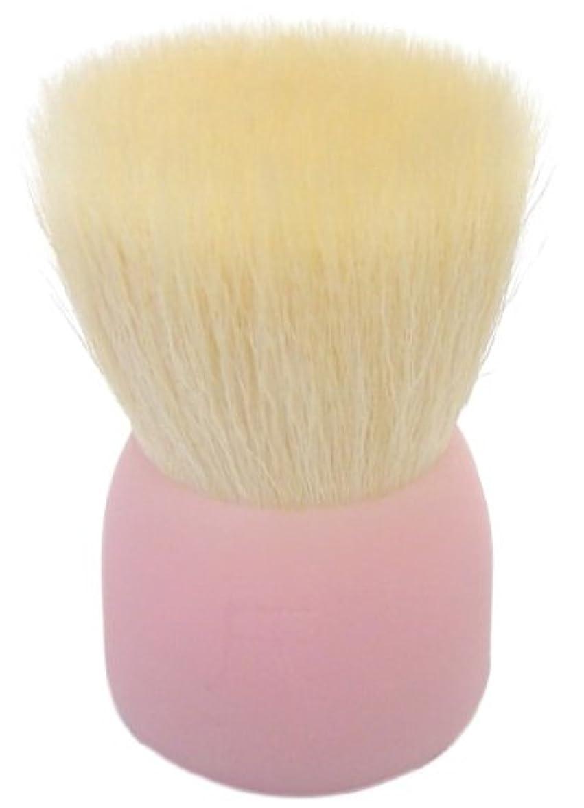ブラウザ印象的アルコーブ洗顔ブラシ(大)ピンクW002