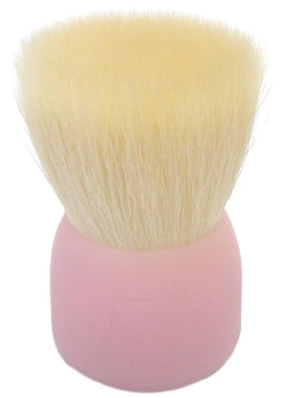 発揮する波ポータル洗顔ブラシ(大)ピンクW002