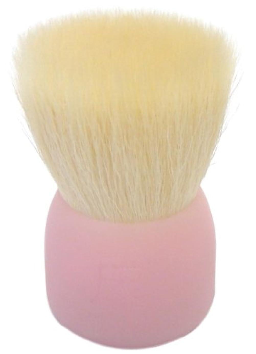 避難する埋め込むモック洗顔ブラシ(大)ピンクW002