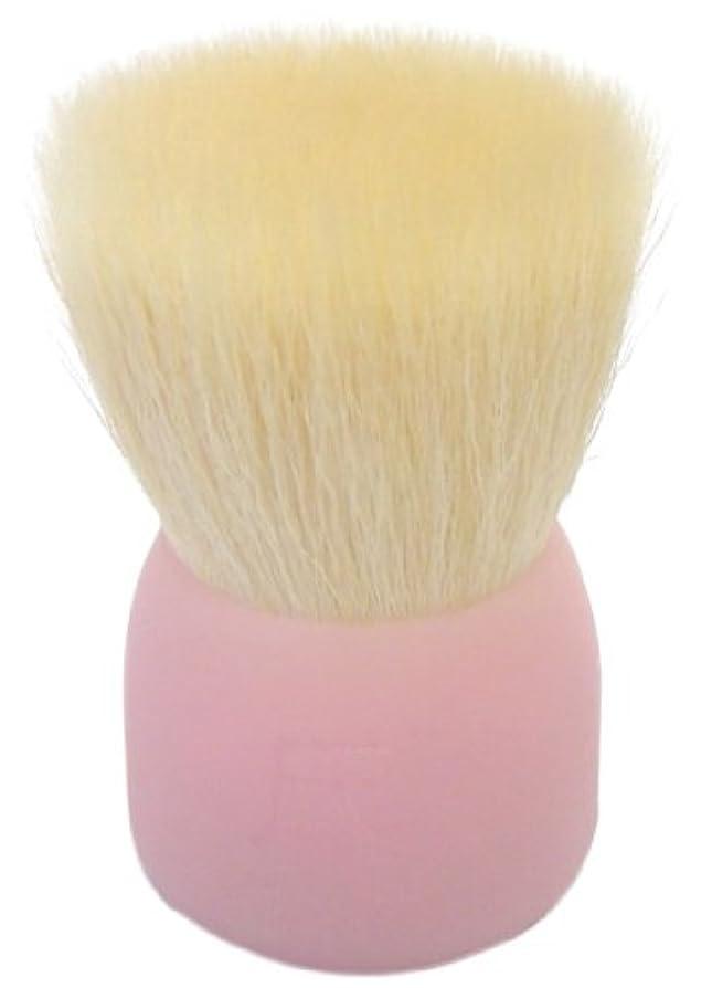 長老冗談で縮れた洗顔ブラシ(大)ピンクW002
