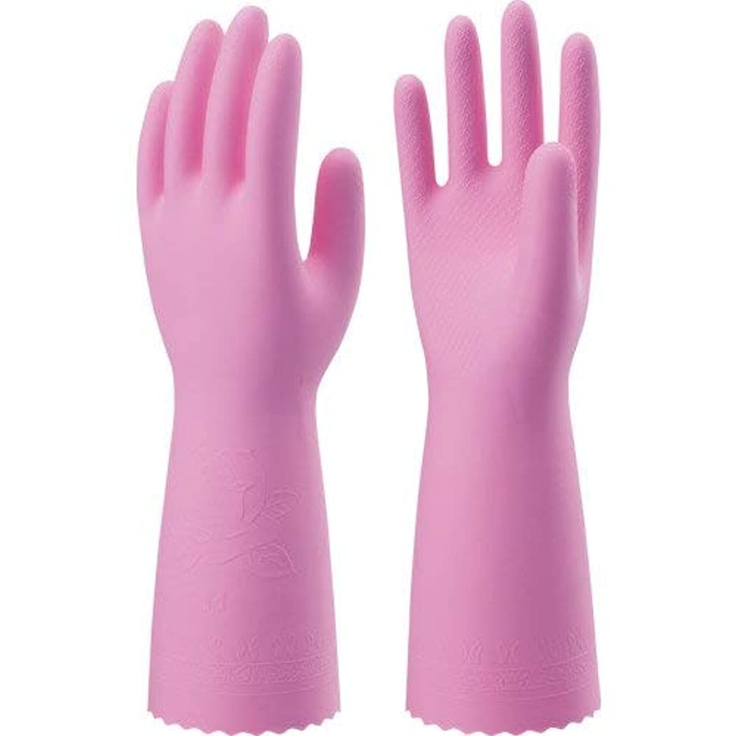 矢印オーバーラン謙虚なナイスハンドミュー厚手 Mピンク × 90個セット