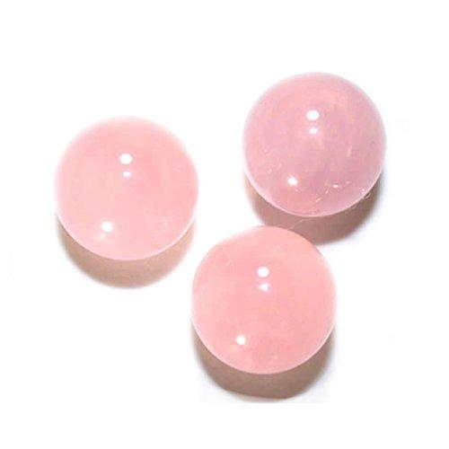 [해외][해피 봄] 로즈 쿼츠 둥근 구슬 12mm 구멍 없음 1 마리 판매 천연석 파워 스톤 置石 484_329RQ12_R/[Happy Bomb] Rose Quartz Round Ball without 12 mm hole 1 grain Sale Natural Stone Power Stone Petroleum 484 _ 329 RQ 12 _ R