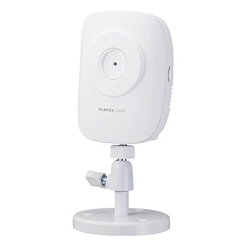 PLANEX ネットワークカメラ(スマカメ) マイク内蔵・スマホ/パソコン/テレビ対応 CS-QR10
