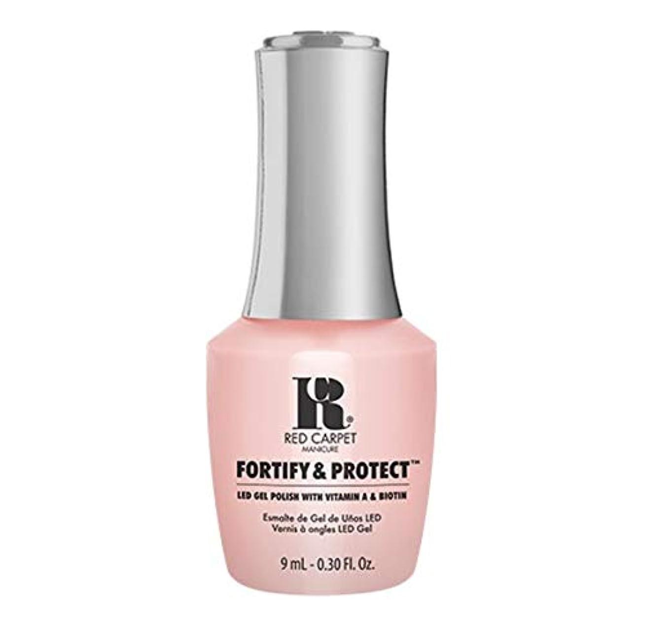 寮きちんとしたいじめっ子Red Carpet Manicure - Fortify & Protect - No Damsels Here - 9ml / 0.30oz