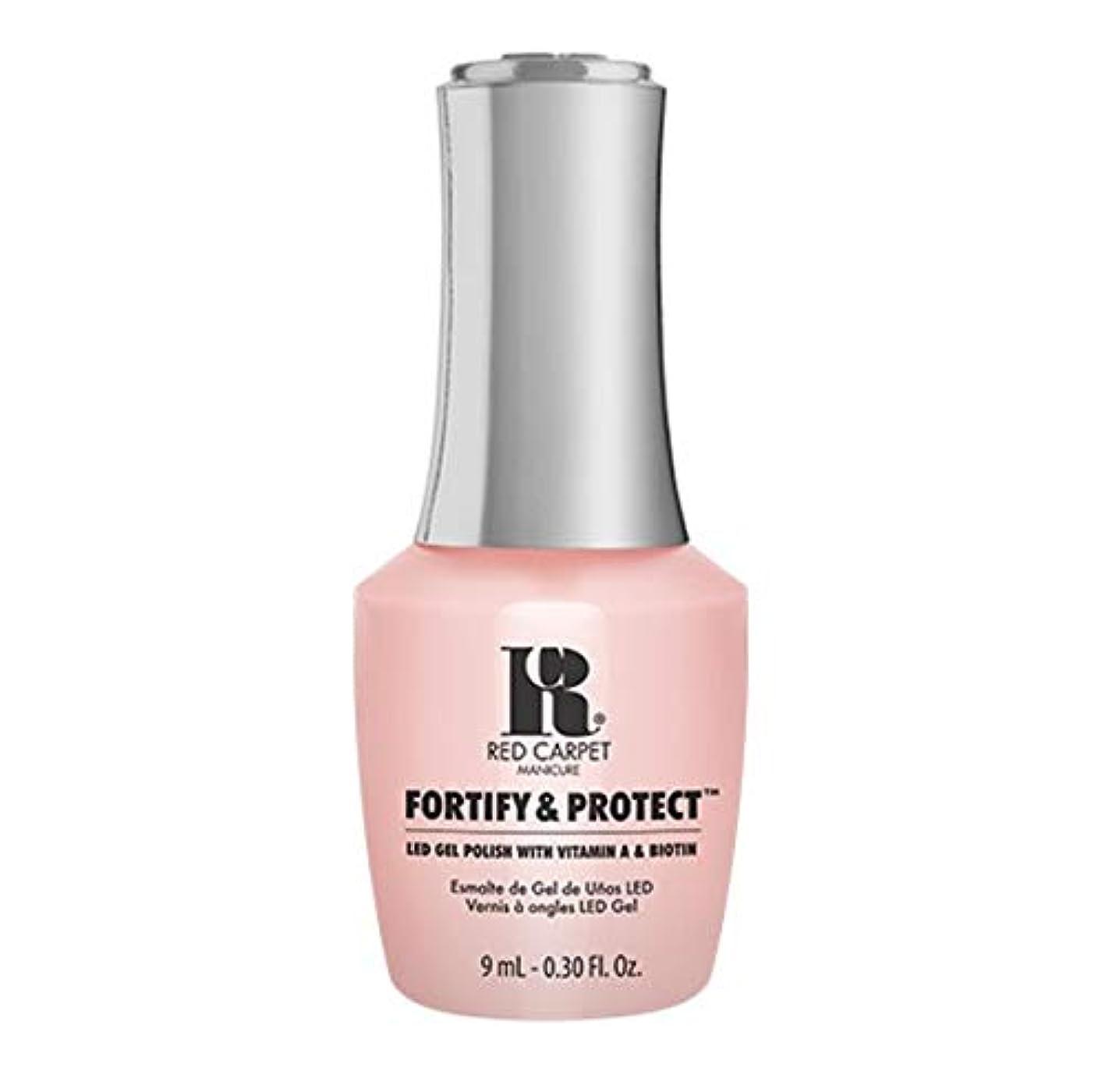 良性本物の頭痛Red Carpet Manicure - Fortify & Protect - No Damsels Here - 9ml / 0.30oz