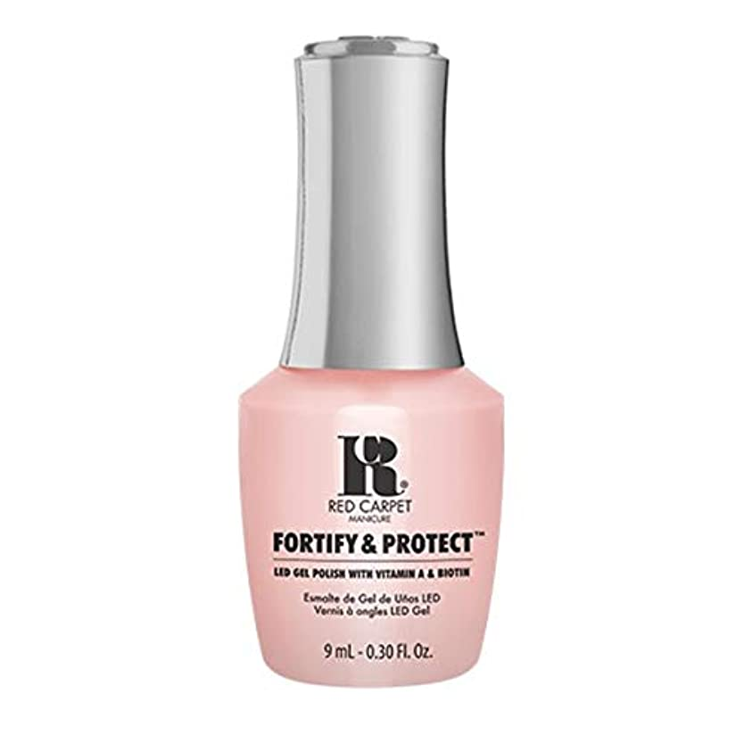 不注意信じられないそれRed Carpet Manicure - Fortify & Protect - No Damsels Here - 9ml / 0.30oz