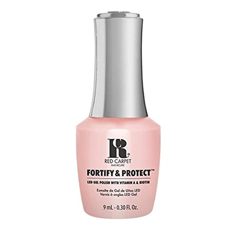 苦味アセ事前Red Carpet Manicure - Fortify & Protect - No Damsels Here - 9ml / 0.30oz