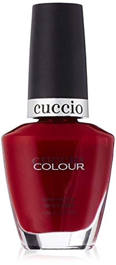 最も最小化する汚すCuccio Colour Gloss Lacquer - Pompeii It Forward - 0.43oz / 13ml