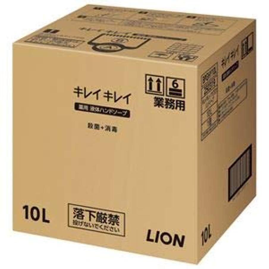 開梱霧パーク(まとめ)ライオン キレイキレイ 薬用ハンドソープ 10L【×5セット】