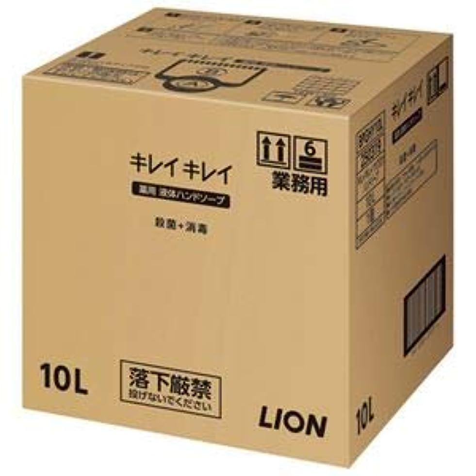 手数料遺産証言する(まとめ)ライオン キレイキレイ 薬用ハンドソープ 10L【×5セット】