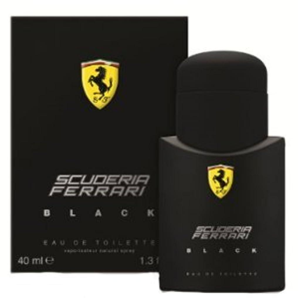 爆発する安西ほのめかすFERRARI フェラーリ フェラーリブラック 40ml メンズ 香水 FERBKEDT40 (並行輸入品)