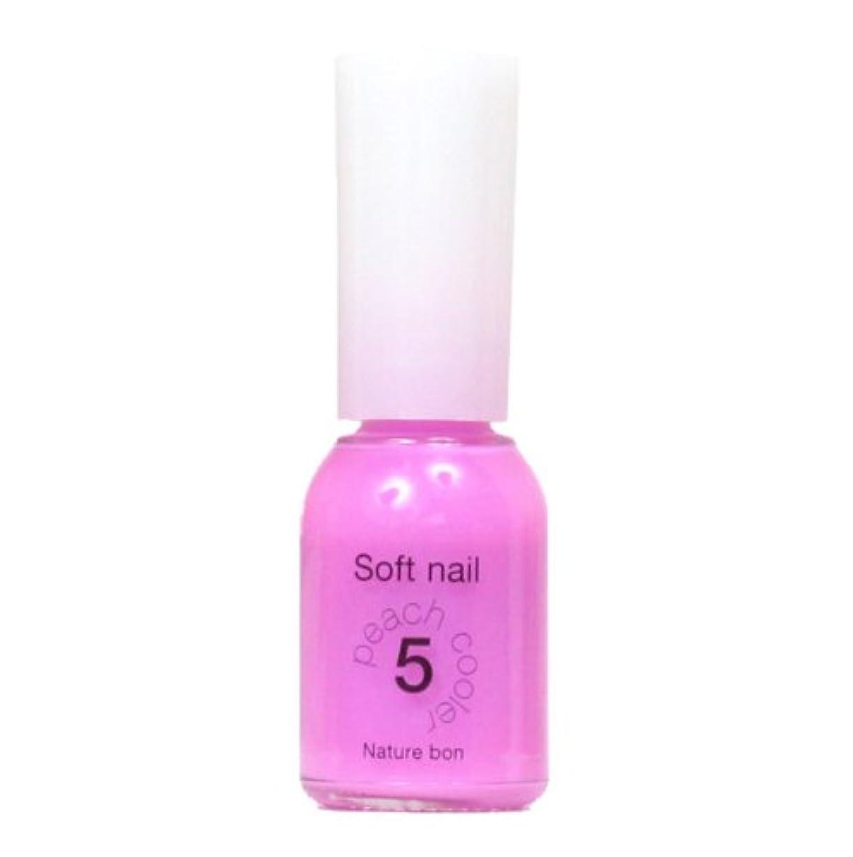 太陽しつけ無限胡粉ネイル 水桃 5ピーチクーラー 透明系ピンク キッズネイル 10ml シンナー臭くなく手軽で安心安全な ワンデイネイル